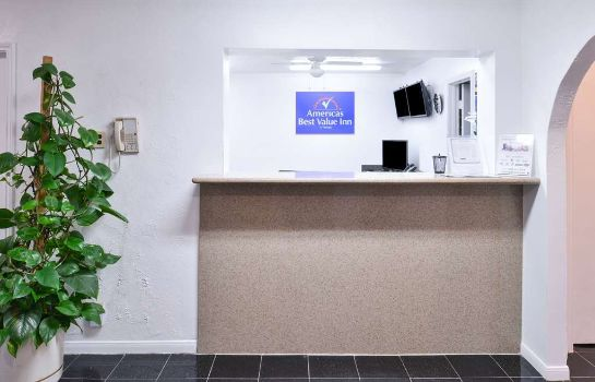 Hotelhalle Americas Best Value Inn Clute