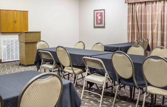 Conference room Quality Inn Claremore