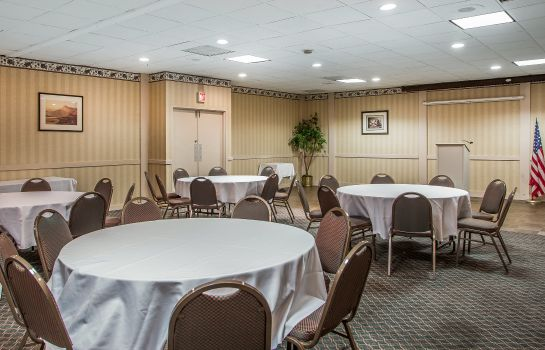 Conference room Econo Lodge Clarion