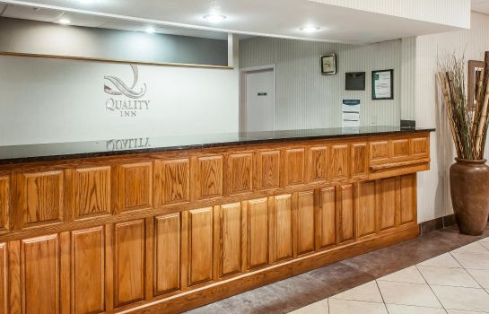 Vestíbulo del hotel Quality Inn and Suites Grants