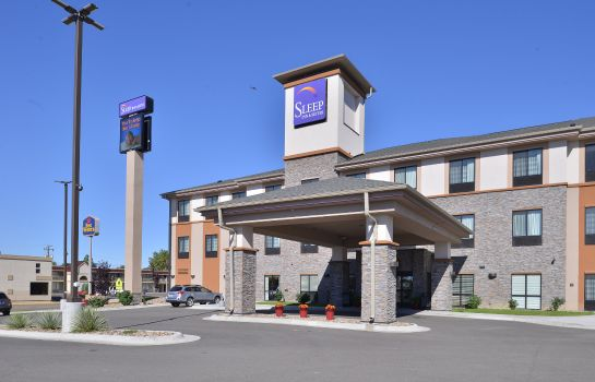 Vista esterna Sleep Inn & Suites Miles City