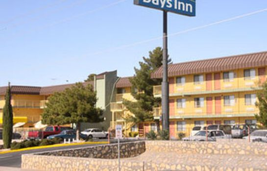 Außenansicht Days Inn by Wyndham El Paso Airport East