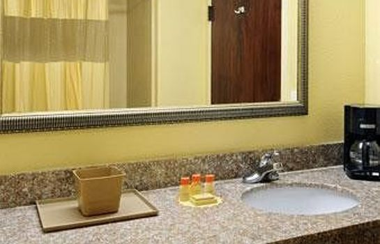 Bagno in camera Days Inn New Orleans/LaPlace
