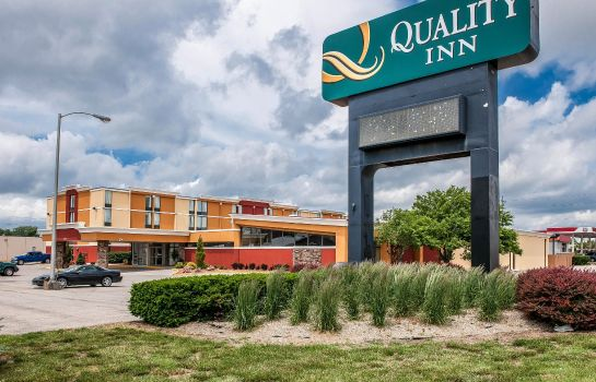 Vista esterna Quality Inn Terre Haute University Area