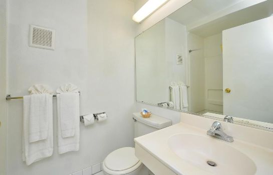 Bagno in camera Americas Best Value Inn Chico
