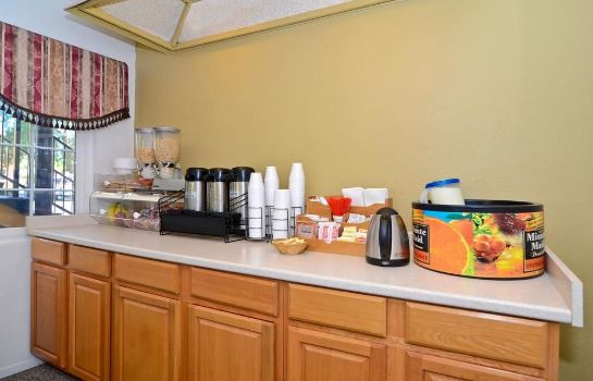 Sala colazione Americas Best Value Inn Chico