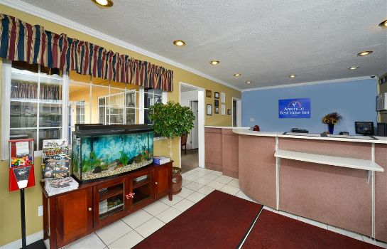 Hol hotelowy Americas Best Value Inn Chico