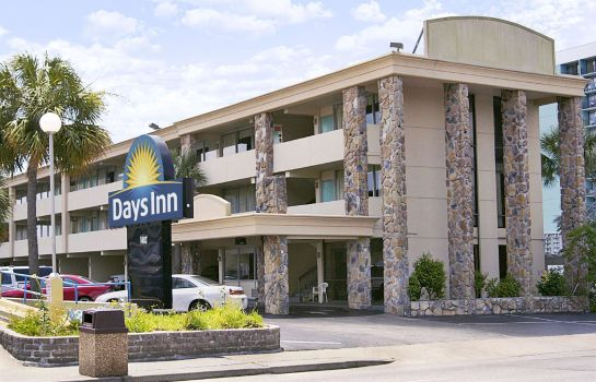 Außenansicht Days Inn by Wyndham Myrtle Beach-Beach Front
