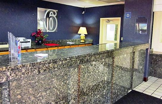 Hall de l'hôtel MOTEL 6 MEMPHIS TN