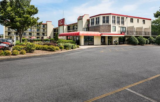 Außenansicht Econo Lodge Inn & Suites Resort - Rehoboth Beach