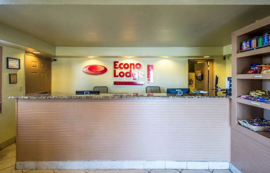 Lobby Econo Lodge  Inn & Suites Maingate Central