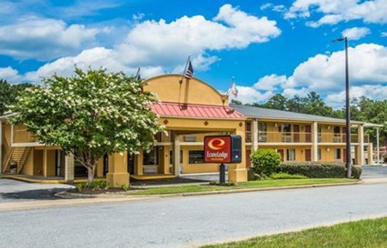 Exterior view Econo Lodge Inn & Suites at Fort Benning