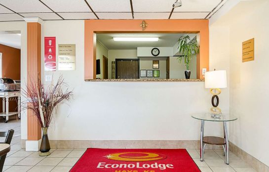 Lobby Econo Lodge Hays