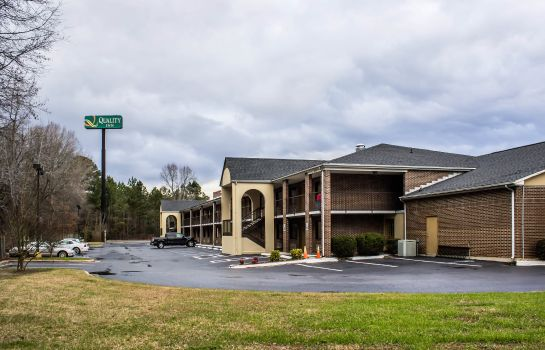 Buitenaanzicht Quality Inn Kenly I-95