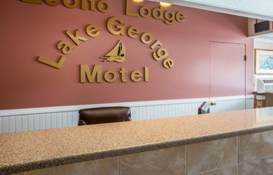 Hall de l'hôtel Econo Lodge Downtown Lake George