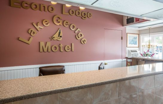 Hol hotelowy Econo Lodge Downtown Lake George