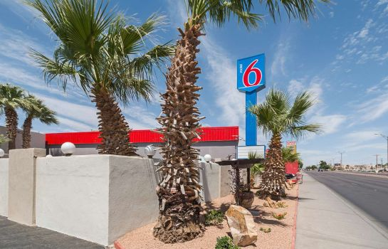 Buitenaanzicht TX - Airport - Fort Bliss Motel 6 El Paso