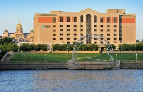 Vista exterior Embassy Suites by Hilton Des Moines Downtown