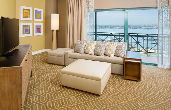 Zimmer Embassy Suites by Hilton San Diego Bay Downtown