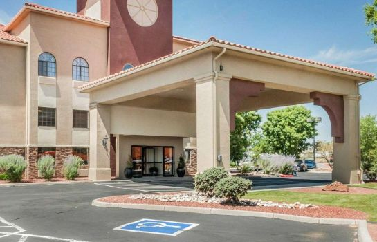 Exterior view Quality Inn and Suites Albuquerque Quality Inn and Suites Albuquerque