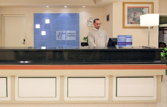 Vestíbulo del hotel Holiday Inn Express & Suites BOSTON - CAMBRIDGE