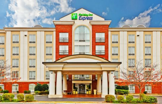 Außenansicht Holiday Inn Express & Suites CHATTANOOGA-LOOKOUT MTN