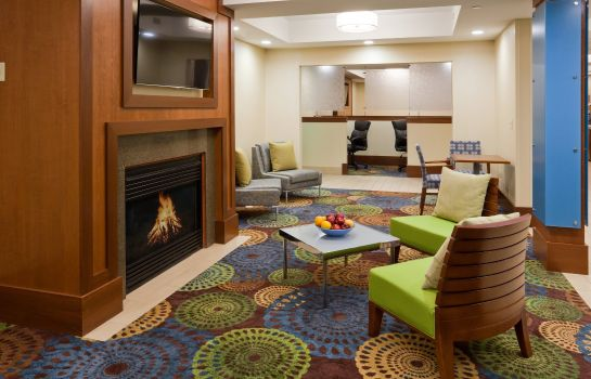 Vestíbulo del hotel Holiday Inn Express CEDAR RAPIDS (COLLINS RD)