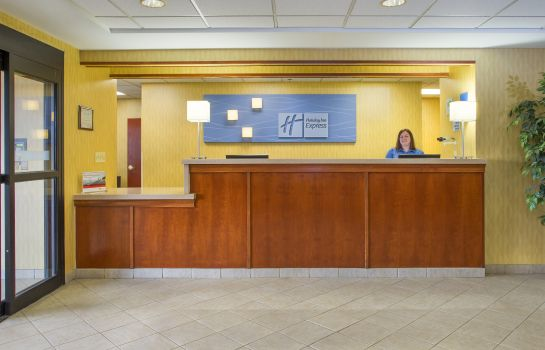 Hall de l'hôtel Holiday Inn Express & Suites COLUMBUS AIRPORT