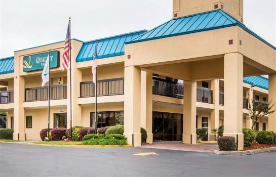 Vista exterior Quality Inn near Six Flags