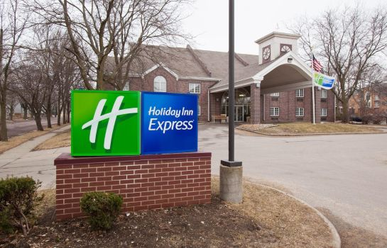 Außenansicht Holiday Inn Express DES MOINES-AT DRAKE UNIVERSITY