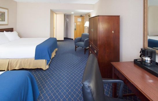 Zimmer Holiday Inn Express DES MOINES-AT DRAKE UNIVERSITY