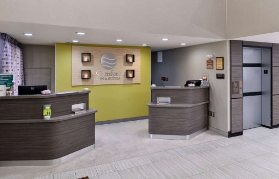 Vestíbulo del hotel Comfort Inn and Suites Frisco - Plano