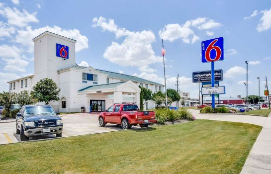 Exterior view MOTEL 6  HOUSTON KATY TX