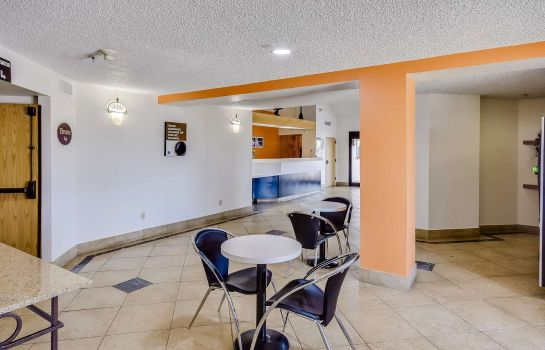 Lobby MOTEL 6  HOUSTON KATY TX