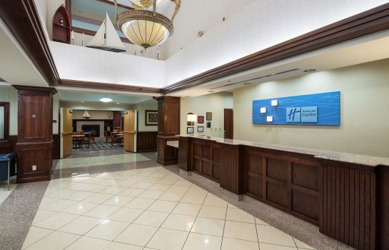 Hotelhalle Holiday Inn Express HAUPPAUGE-LONG ISLAND