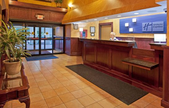 Hotelhalle Holiday Inn Express PITTSBURGH-NORTH (HARMARVILLE)