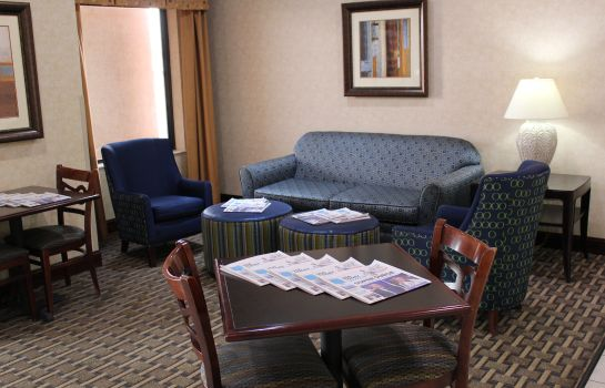 Hotelhalle Holiday Inn Express & Suites KANSAS CITY-LIBERTY (HWY 152)