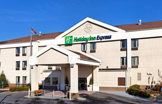 Buitenaanzicht Holiday Inn Express METROPOLIS