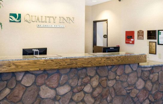 Hall de l'hôtel Quality Inn Oacoma