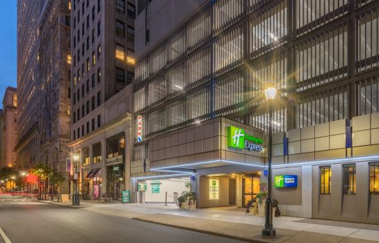 Außenansicht Holiday Inn Express PHILADELPHIA-MIDTOWN