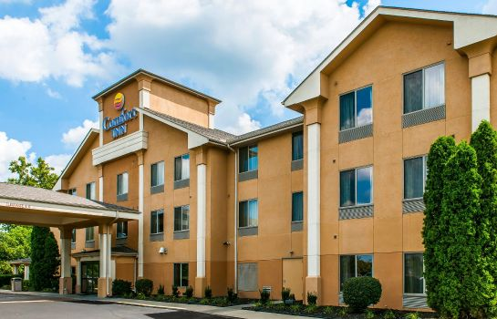 Buitenaanzicht Comfort Inn Pickerington