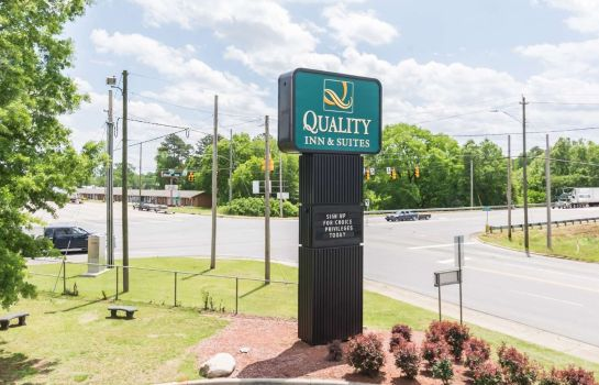 Buitenaanzicht Quality Inn and Suites Rockingham