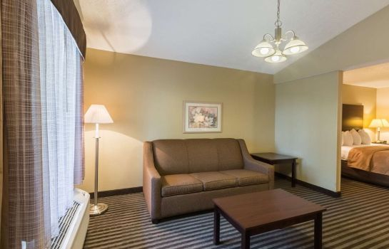 Tweepersoonskamer (comfort) Quality Inn and Suites Rockingham