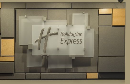 Vestíbulo del hotel Holiday Inn Express SAN ANTONIO-AIRPORT