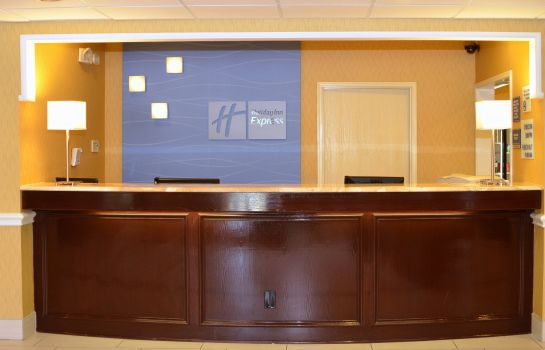 Hotelhalle Holiday Inn Express & Suites SAN ANTONIO-AIRPORT NORTH