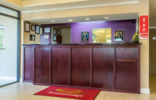 Hotelhalle Econo Lodge Stockbridge