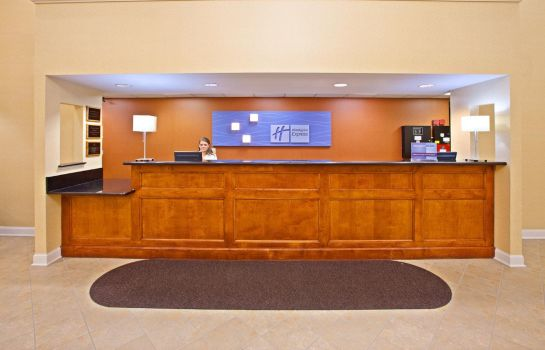 Hotelhalle Holiday Inn Express & Suites LOUISVILLE EAST