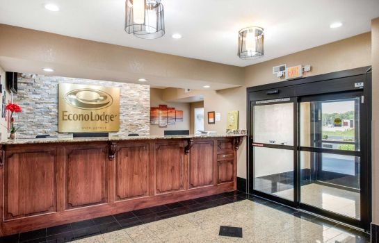 Hotelhalle Econo Lodge Shelbyville