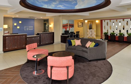 Hotelhalle Holiday Inn Express & Suites TAMPA/ROCKY POINT ISLAND