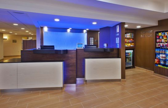 Hotelhalle Fairfield Inn & Suites Dulles Airport Herndon/Reston
